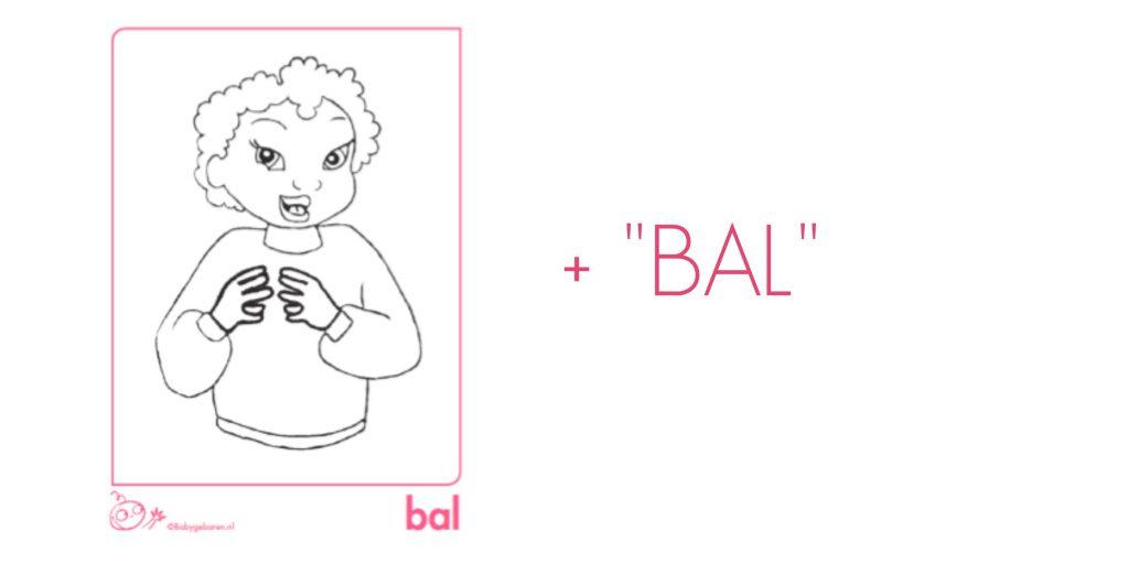 babygebaren bal gebaar